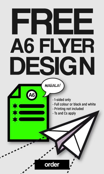 Free flyer design - Michelle Ehrlich Designs