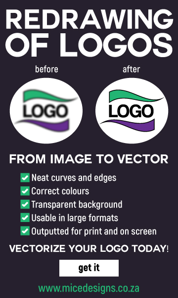 Redrawing of logos and vectorization of logos
