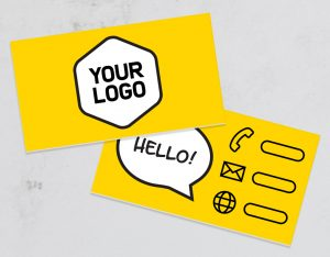 Logo and 250 business cards