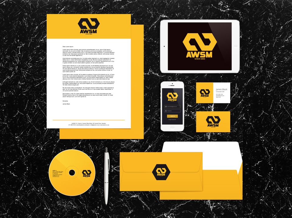 Corporate identity and corporate stationery design