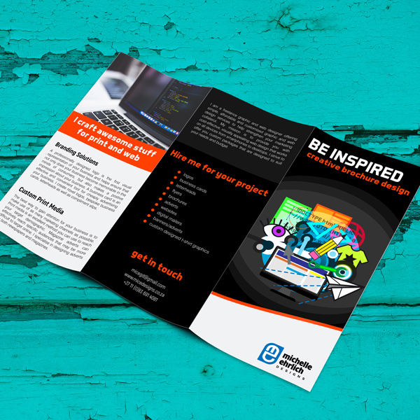 Brochure and pamphlet design