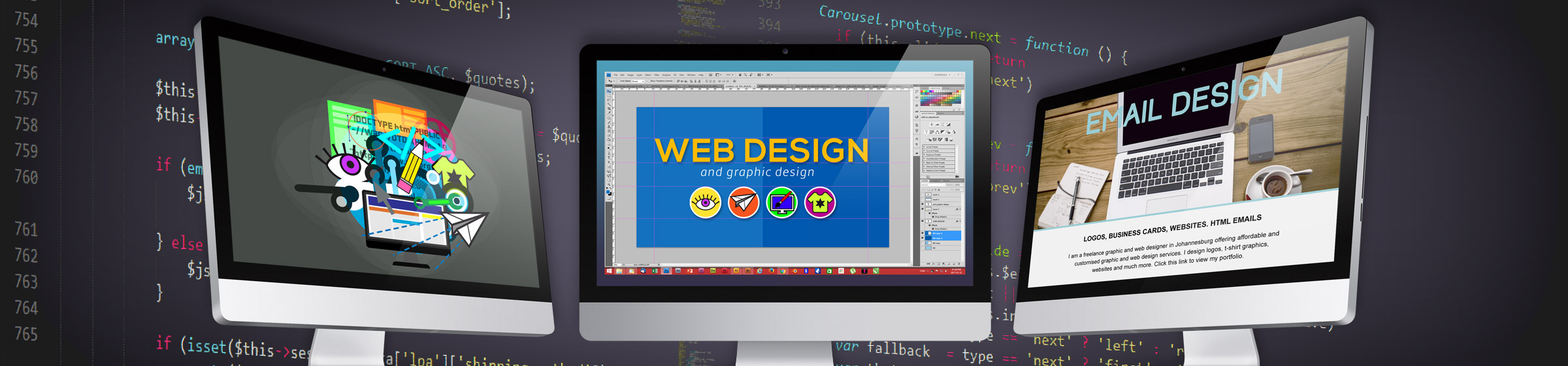 Web design and digital design