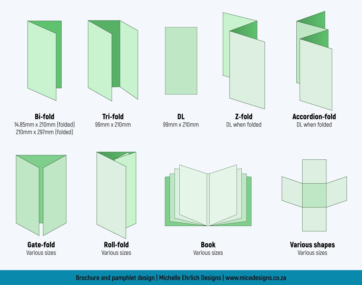 Brochure and pamphlet design