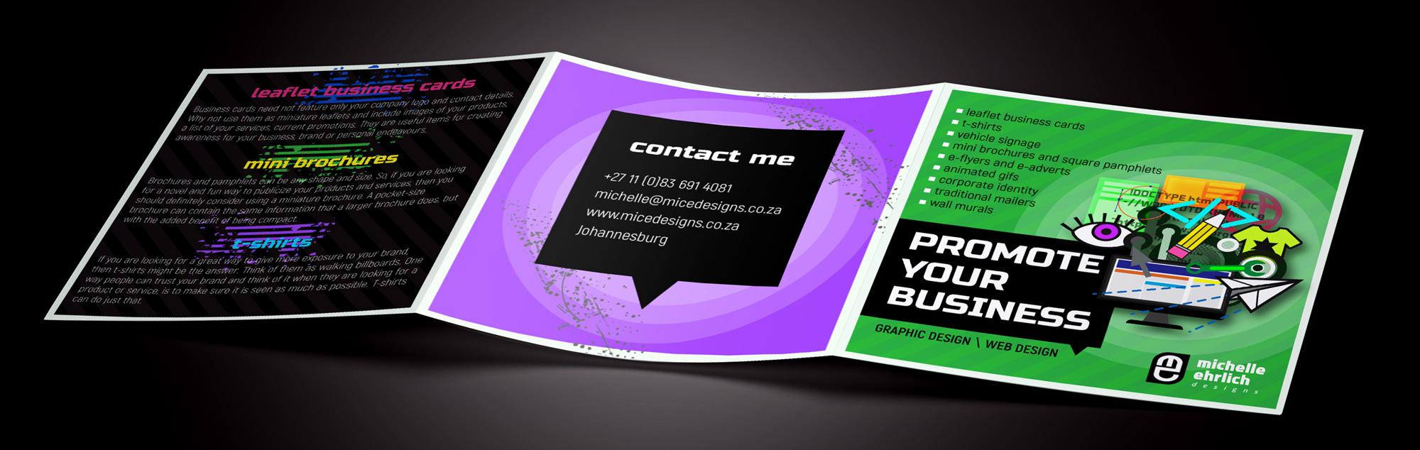 Brochure banner