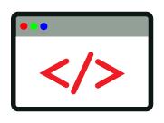 Digital design icon